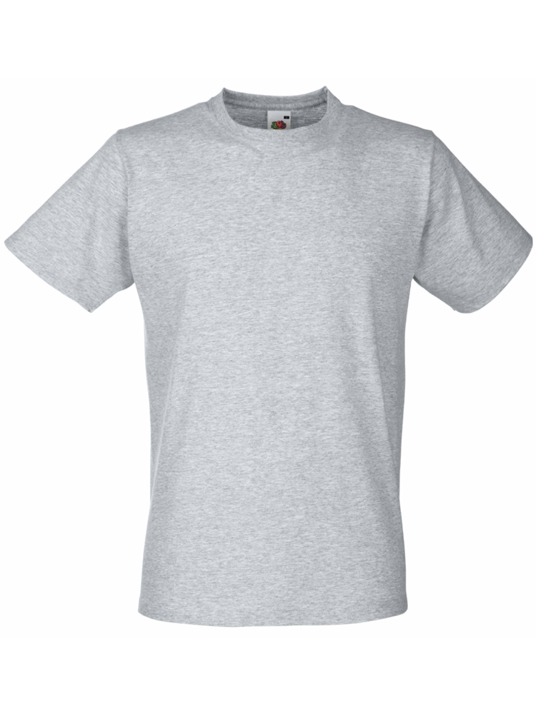 Fruit T-Shirt Fitted Valueweight T, Heather Grey