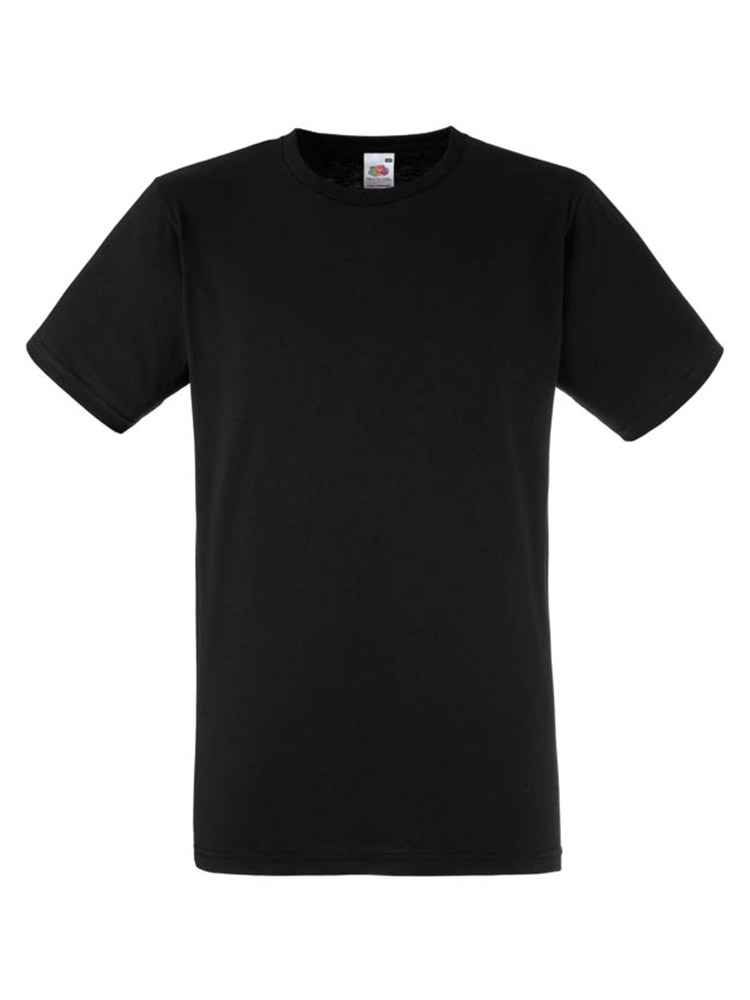 Fruit T-Shirt Fitted Valueweight T, Black