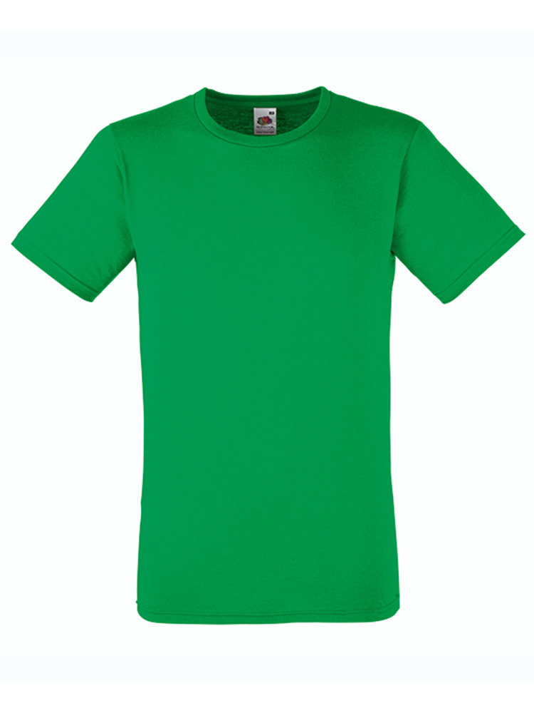 Fruit T-Shirt Fitted Valueweight T, Kelly Green
