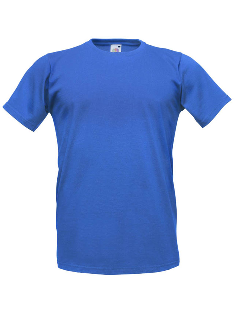 Fruit T-Shirt Fitted Valueweight T, Royal Blue
