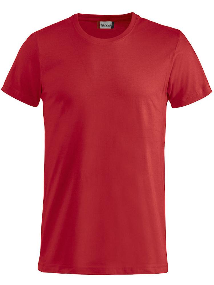T-skjorte Clique Basic-T, Rød