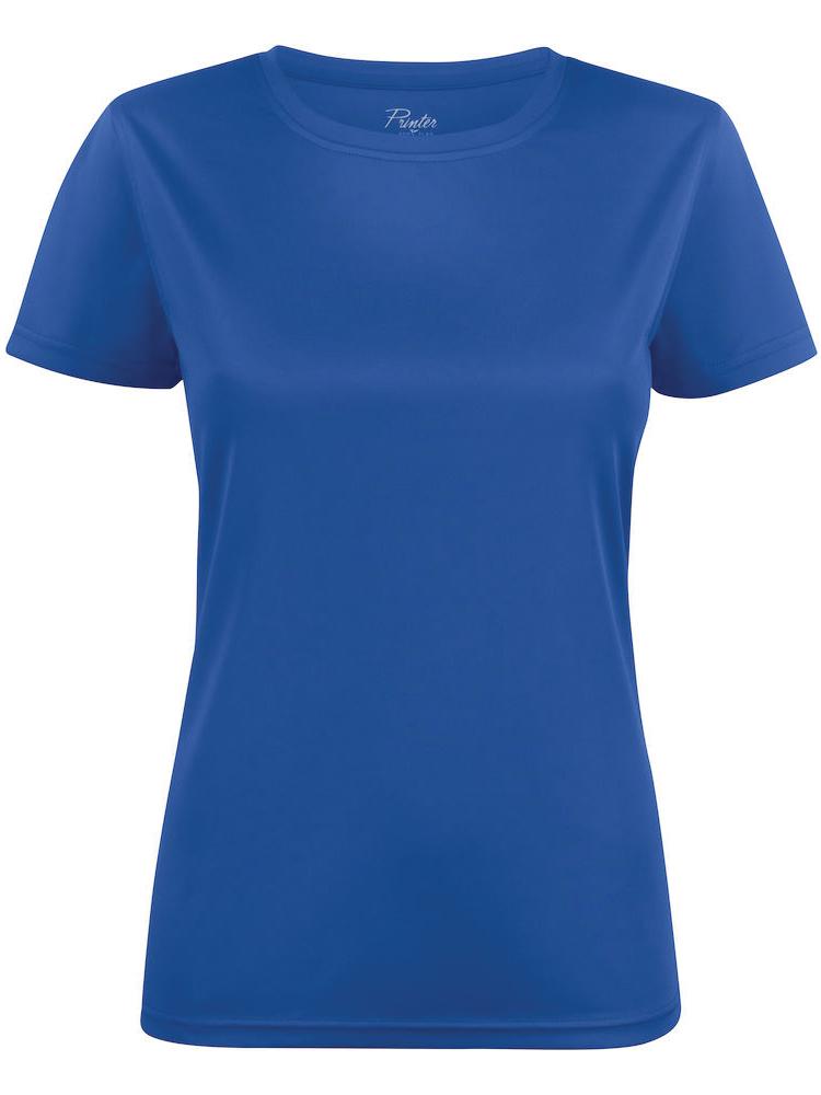 T-skjorte Printer Run Lady, Blå