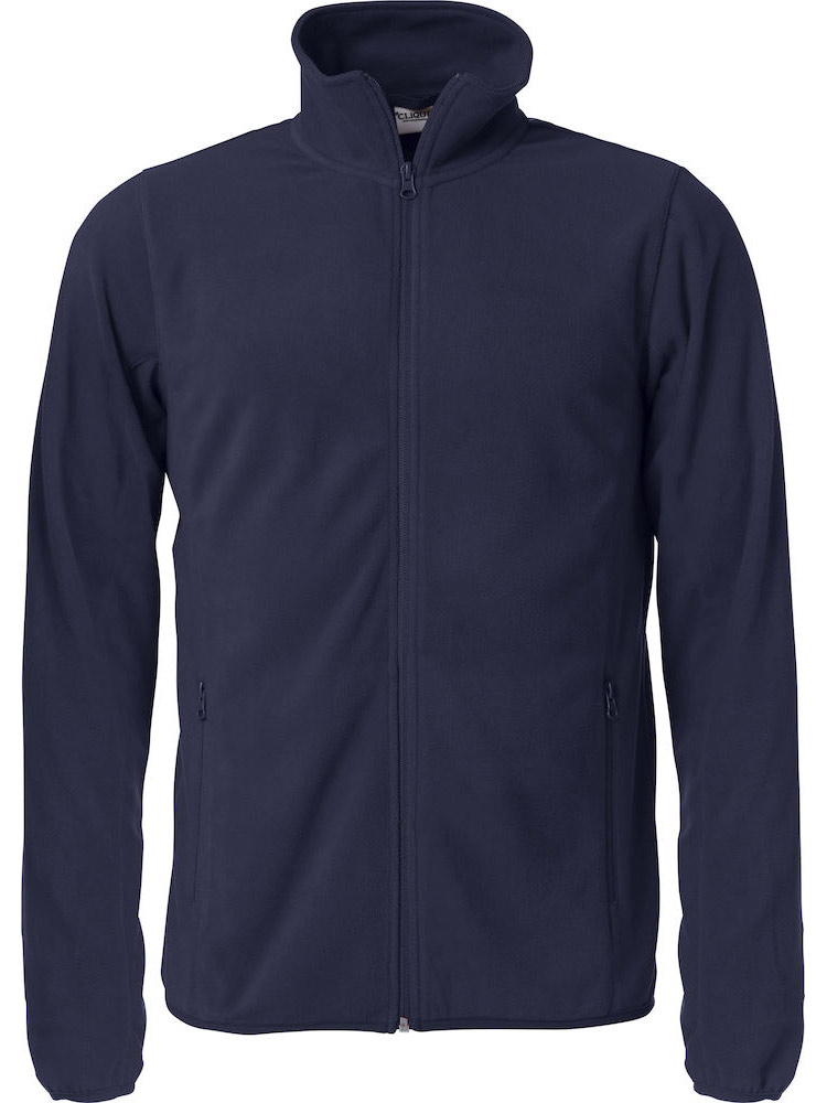 Basic Micro Fleece Jacket, Marine