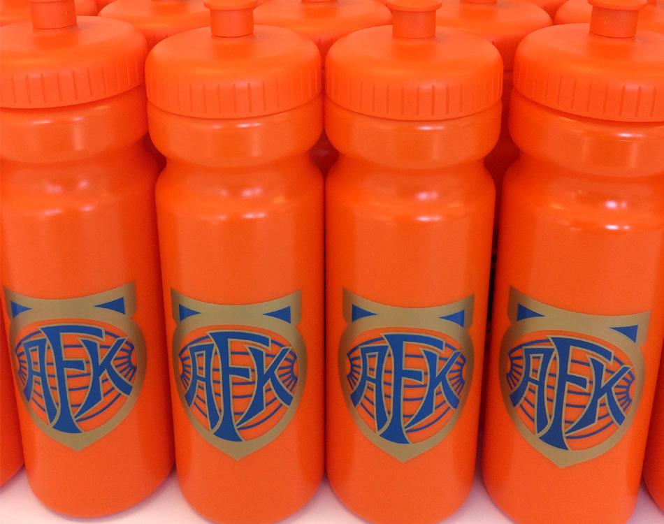 Drikkeflaske Med Logo Aafk Aalesund Avseth Trykk